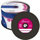 MediaRange Vinyl Discs with BLACK dye CD-R 52x 700MB MR225 - 50 pieces